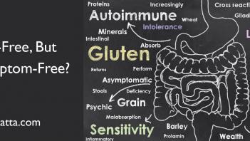 Gluten free but Not Symptom Free? Blame Cross Reactivity
