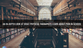 An in-depth look at what physical therapists learn about pain in school