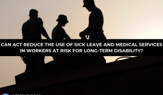 Can ACT Reduce the Use of Sick Leave and Medical Services in Workers at Risk for Long-Term Disability?