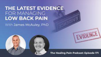 HPP 171 | Managing Low Back Pain
