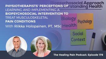 HPP 178 | Biopsychosocial Intervention
