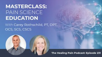 HPP 231   Pain Science Education